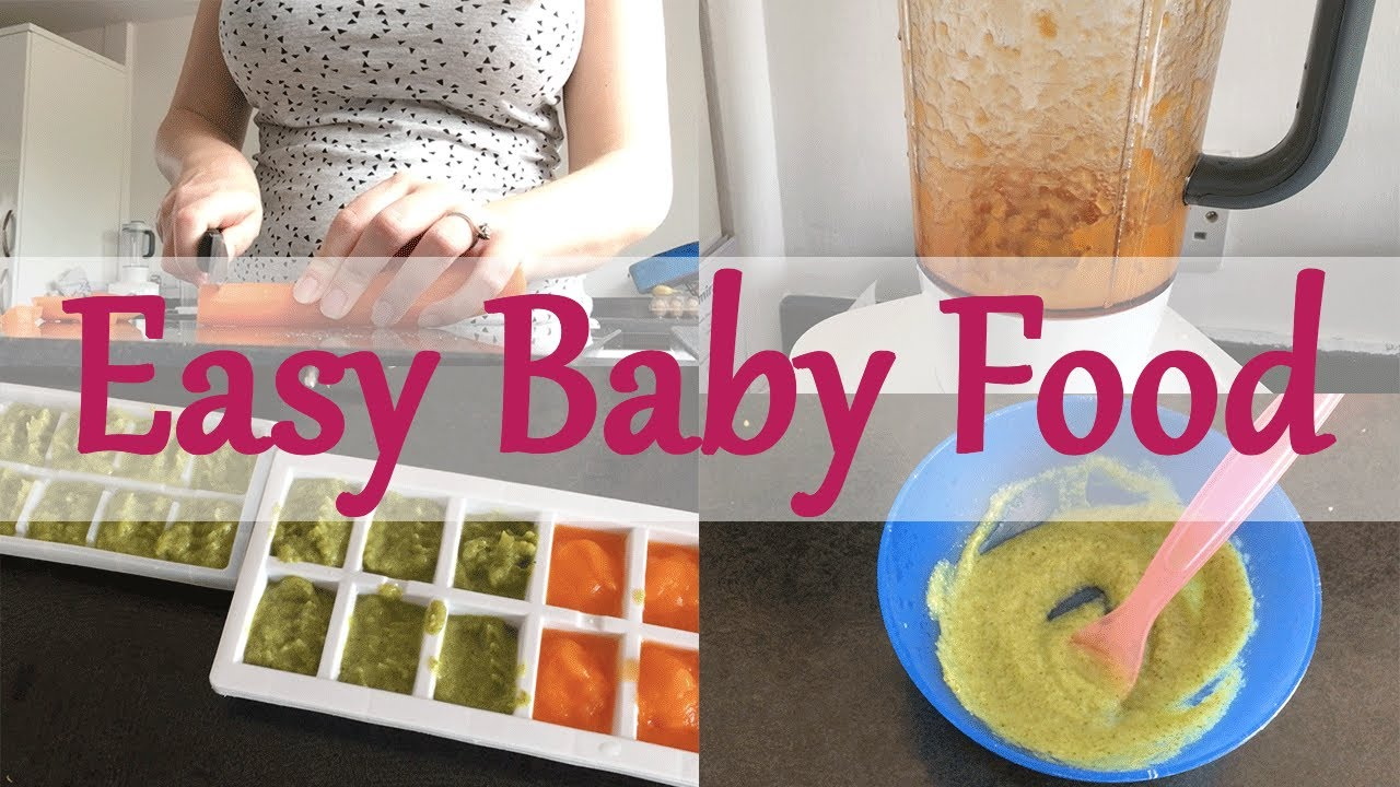 BABY FIRST FOOD - HOW TO MAKE EASY BABY FOOD