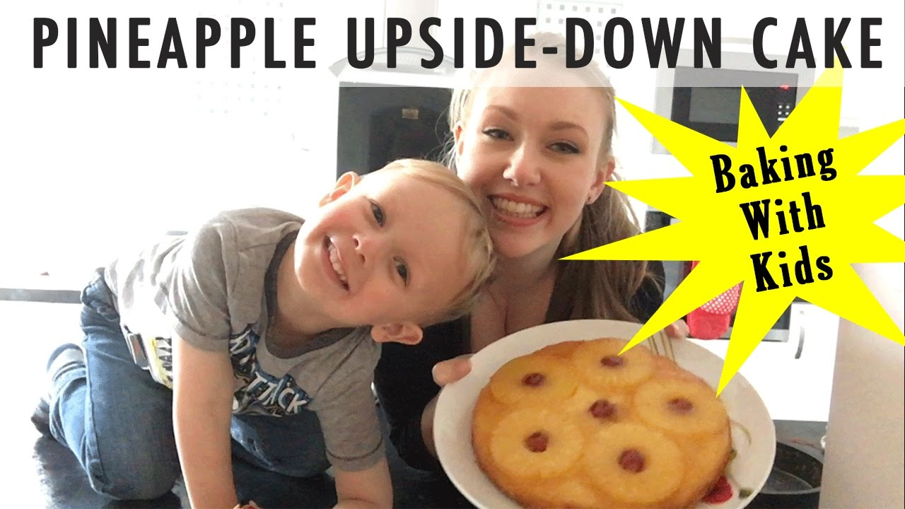 Pineapple Upside Down Cake - Baking With Kids