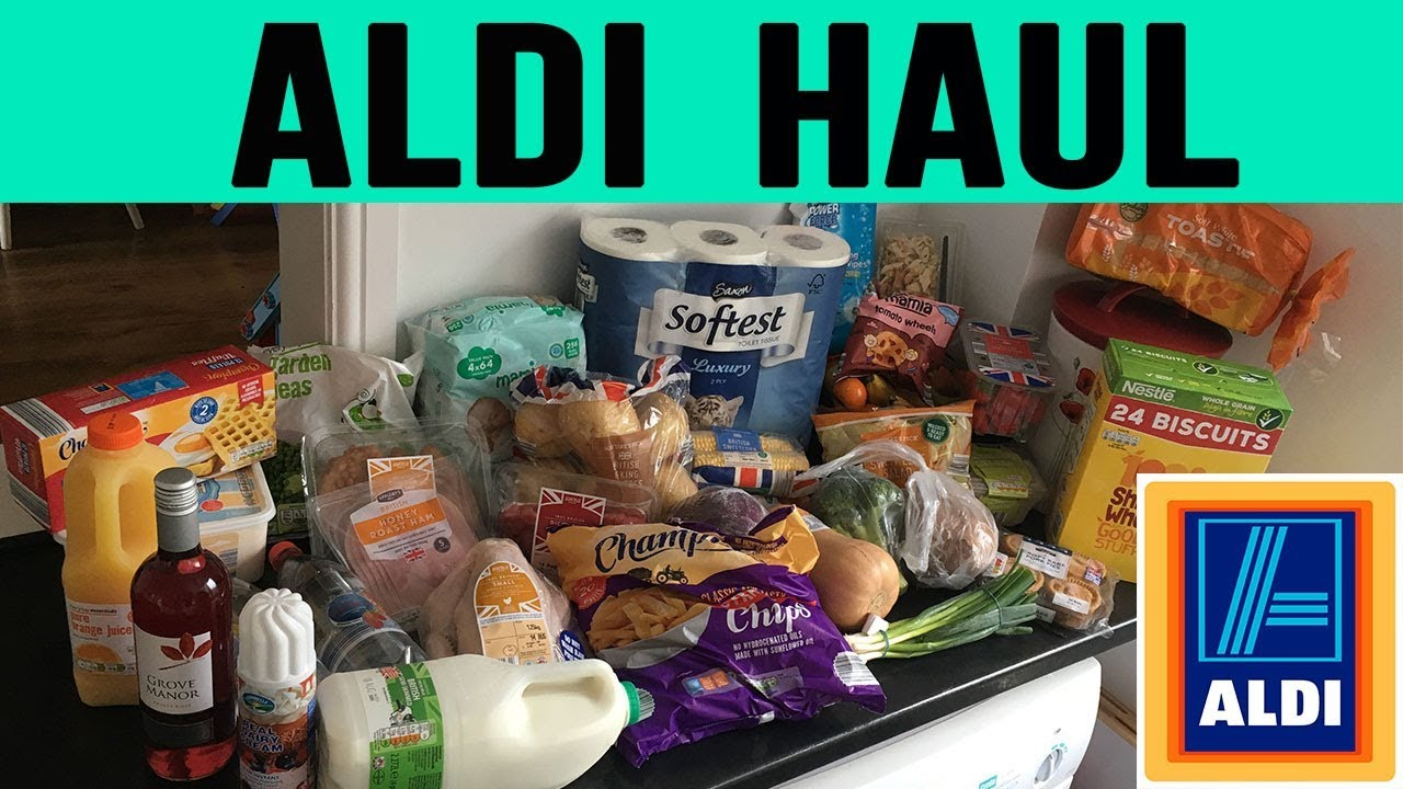 WEEKLY ALDI GROCERY HAUL