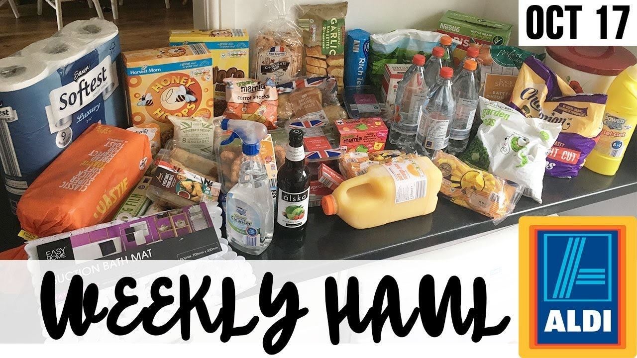 HUGE ALDI HAUL SUPER CHEAP !! GROCERY SHOPPING - WEEKLY FOOD SHOP -
