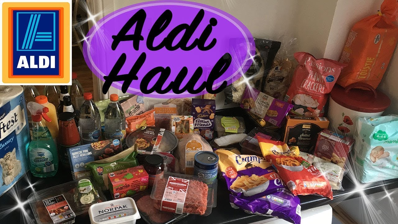 MY BIGGEST ALDI HAUL - HUGE ALDI HAUL - ALDI TREATS - ALDI GROCERY HAUL - ALDI FOOD REVIEW