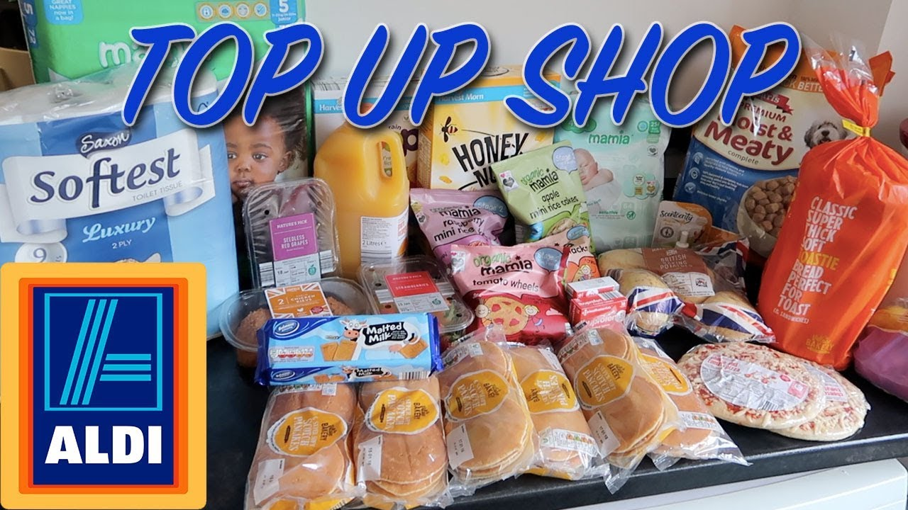 HOW MANY PANCAKES !! ALDI HAUL - ALDI TOP UP SHOP - WEEKLY FOOD SHOP - CHEAP GROCERY HAUL