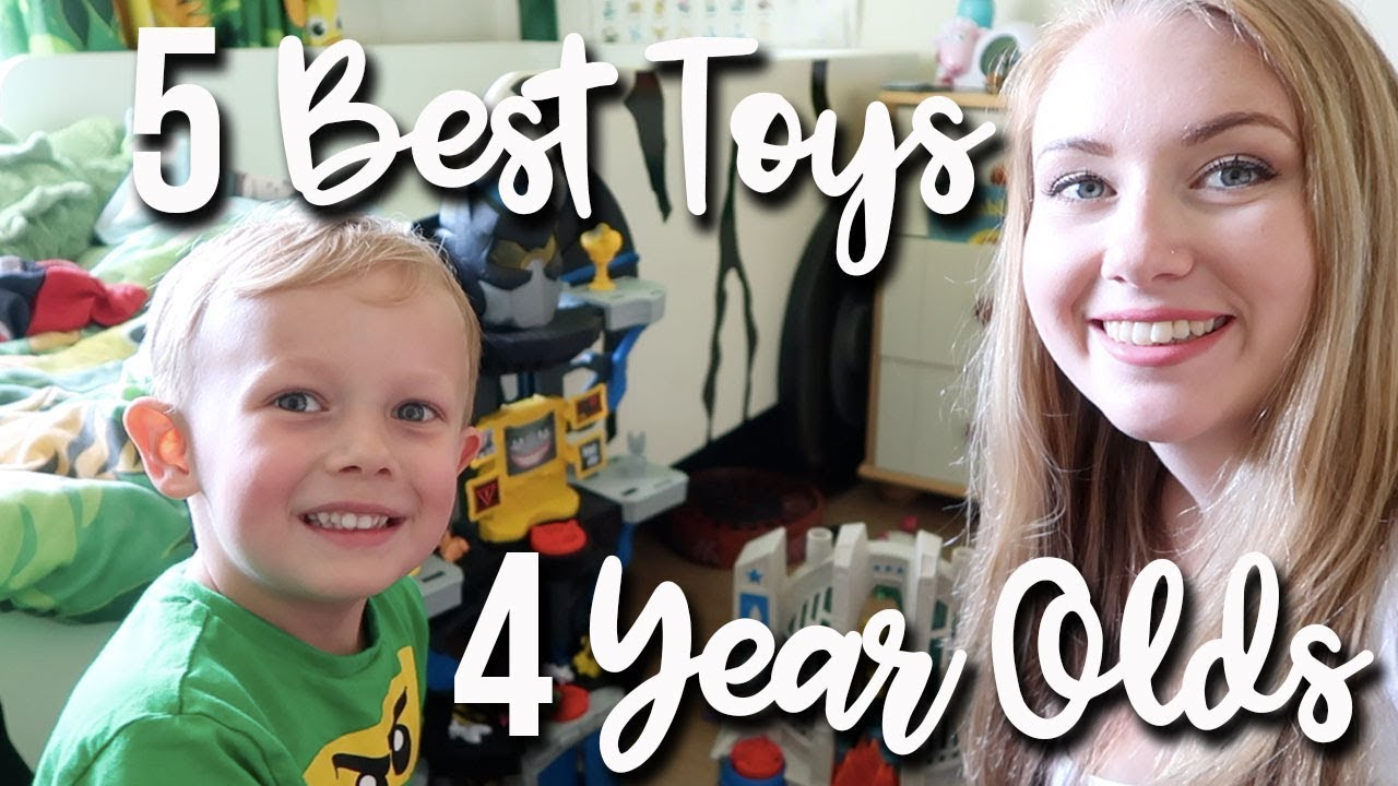 5 BEST TOYS FOR 4 YEAR OLDS - FAVOURITE TOYS MY SON LOVES TO PLAY WITH - A CHILDMINDING MUMMY