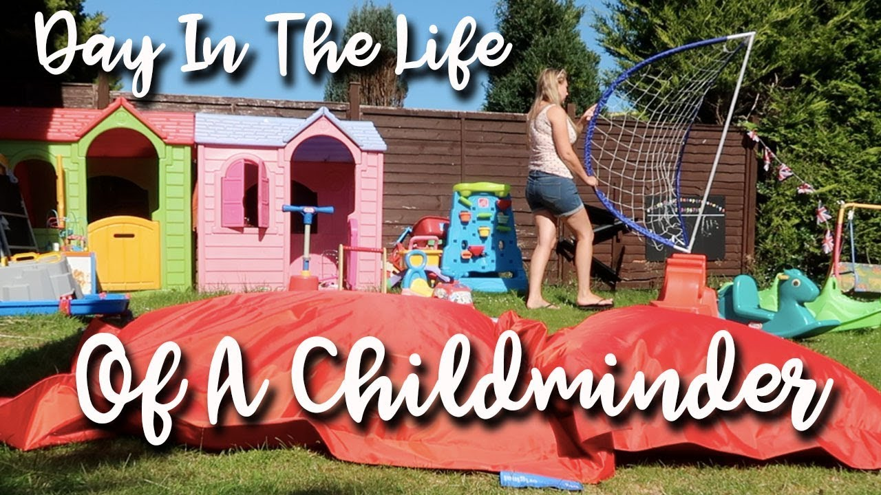 A DAY IN THE LIFE OF A CHILDMINDER IN A HEATWAVE - KEEP THE KIDS COOL IN SUMMER! GARDEN TOYS