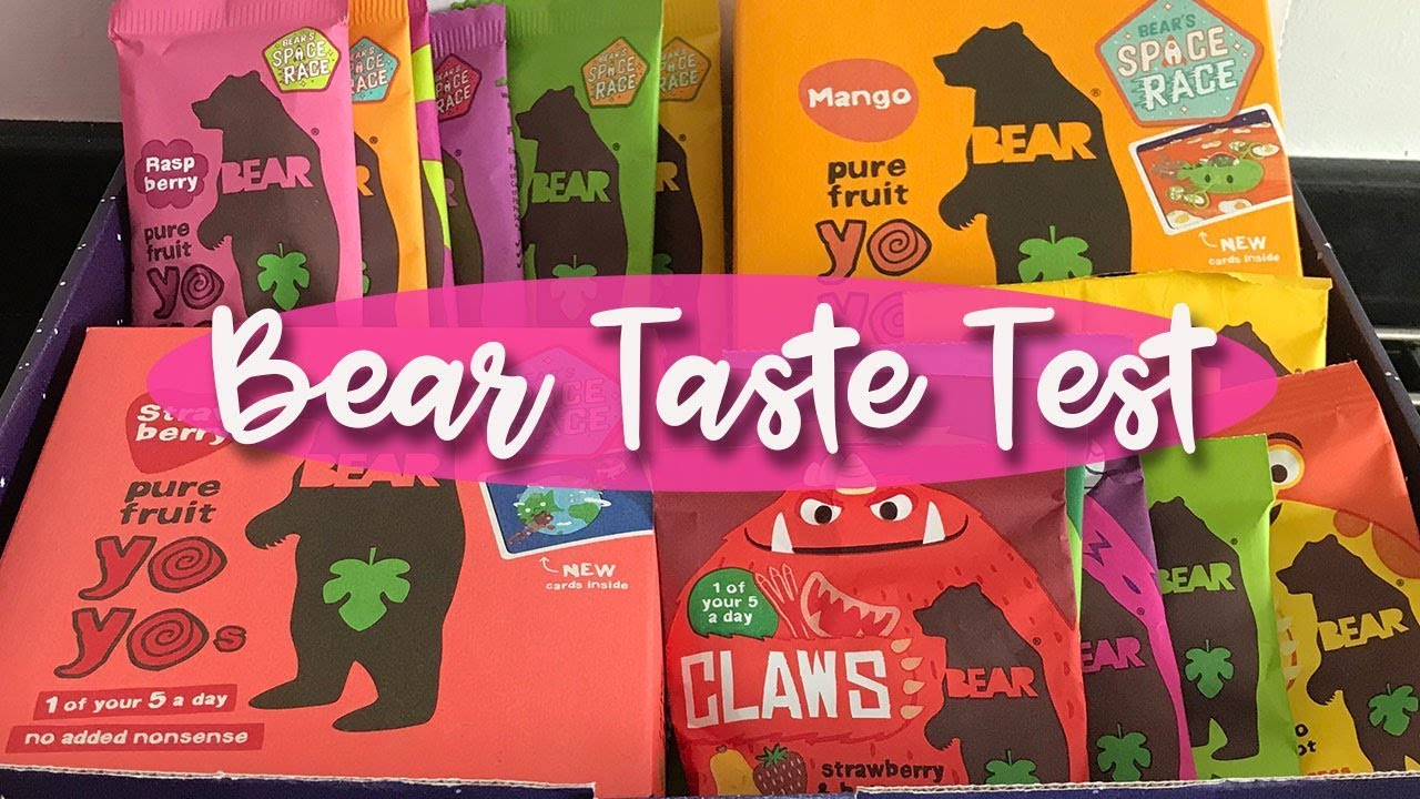 BEAR YO-YO'S, CLAWS AND PAWS - TASTE TEST AND REVIEW - A CHILDMINDING MUMMY