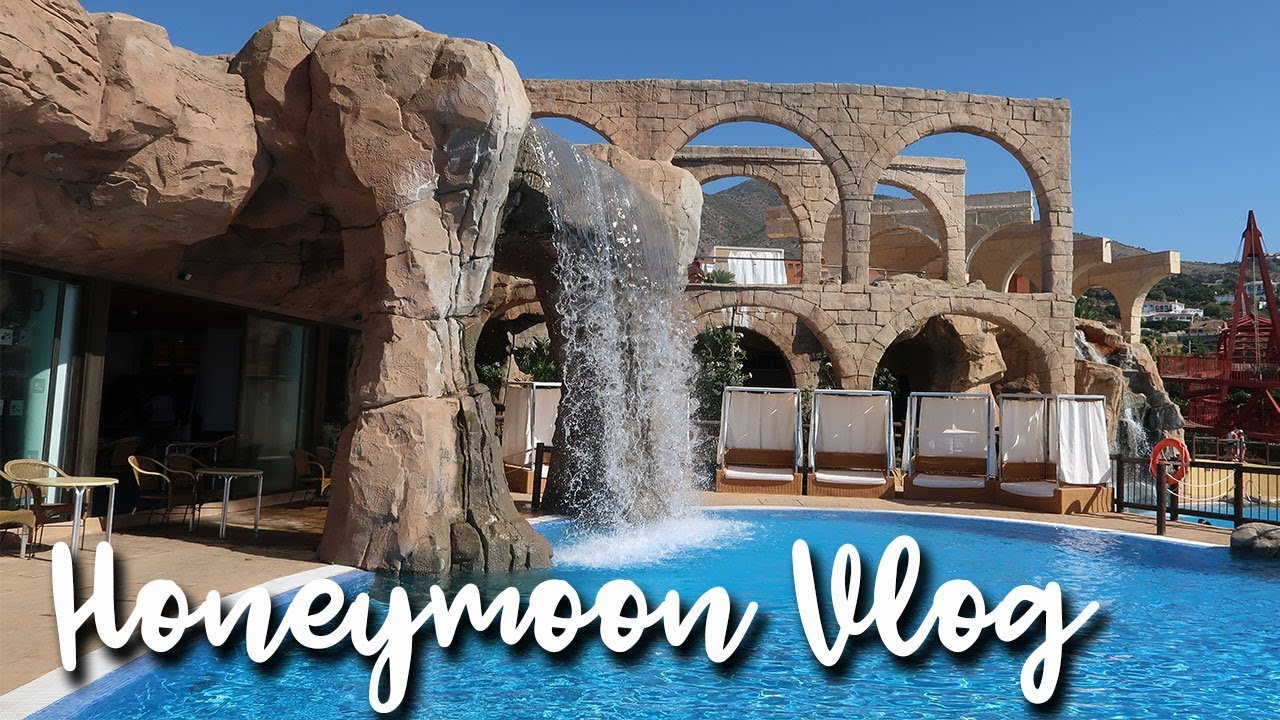 OUR HONEYMOON IN BENALMADENA - HOTEL POLYNESIA - A CHILDMINDING MUMMY