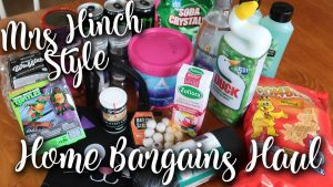 HOME BARGAINS HAUL WITH MRS HINCH CLEANING PRODUCTS AND HALLOWEEN GOODIES - LOTTE ROACH