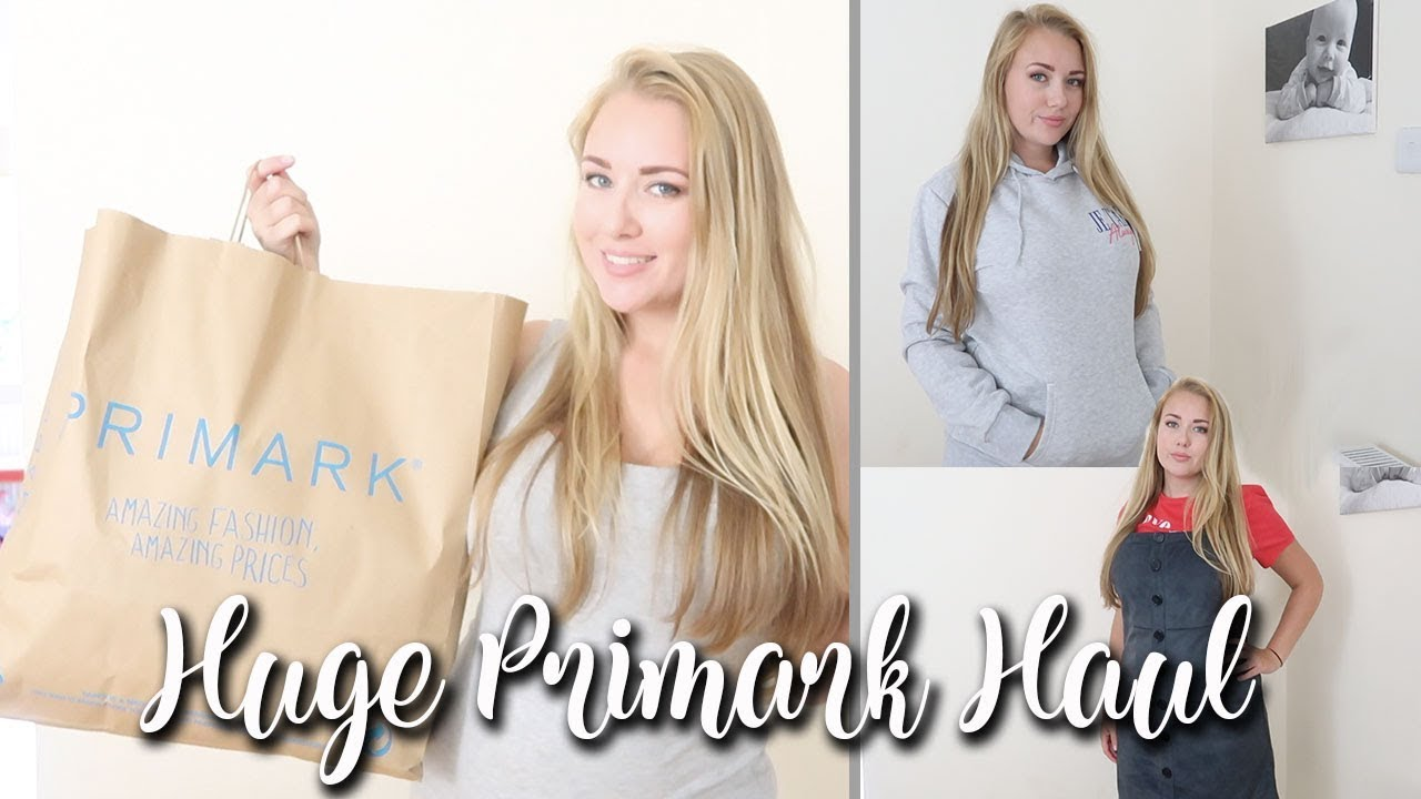 HUGE PRIMARK HAUL AND TRY ON - AUGUST SUMMER 2018 - LOTTE ROACH