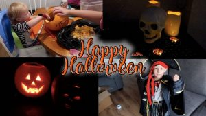 HAPPY HALLOWEEN - PUMPKIN CARVING, DRESSING UP AND DECORATIONS - LOTTE ROACH