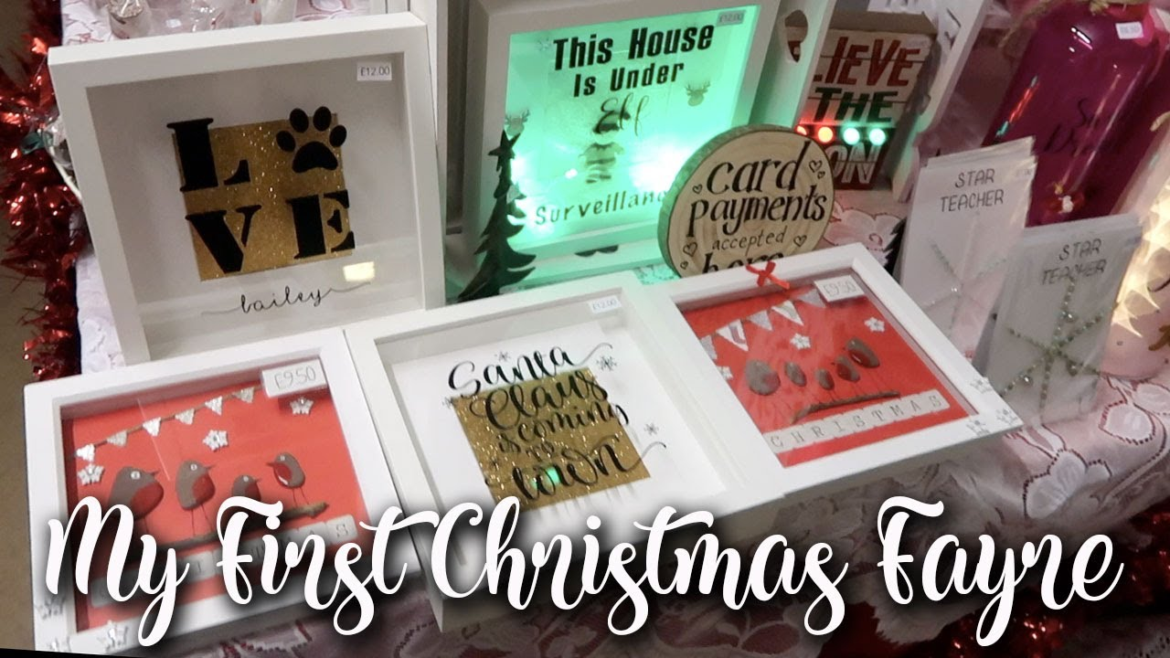A DAY IN THE LIFE OF A WORK FROM HOME MUM OF 2 - CHRISTMAS FAYRE, CRAFT STALL, POKEMON - LOTTE ROACH