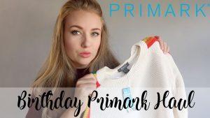 DOUBLE PRIMARK HAUL - HUGE PRIMARK HAUL FOR MY BIRTHDAY WHATS NEW IN PRIMARK NOVEMBER - LOTTE ROACH
