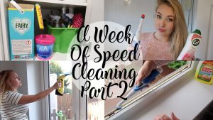 PART 2 A WEEK OF MRS HINCH SPEED CLEANING - THE FORGOTTEN JOBS - ELBOW GREASE, CIF - LOTTE ROACH