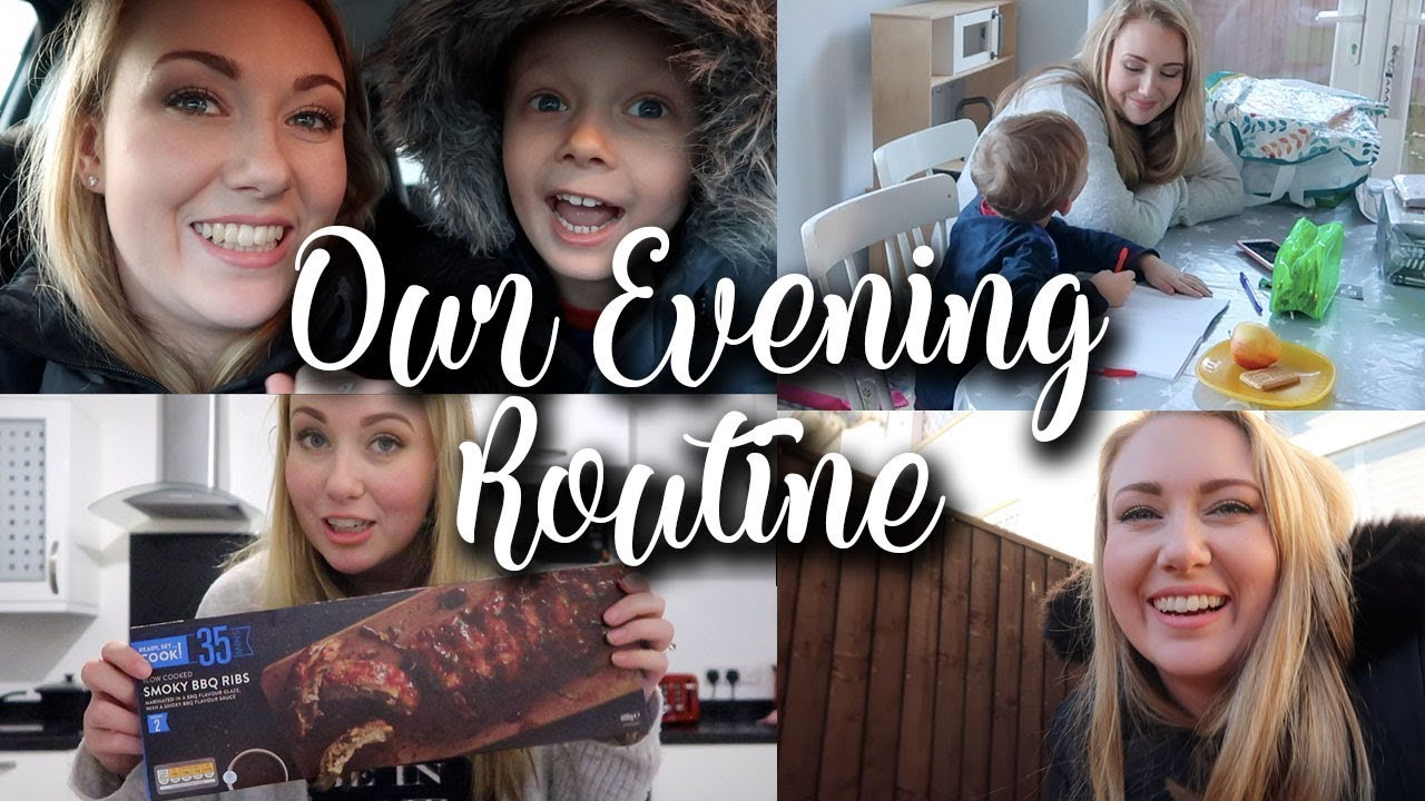 FAMILY OF 4 SUPER BUSY EVENING AND NIGHT ROUTINE - LOTTE ROACH