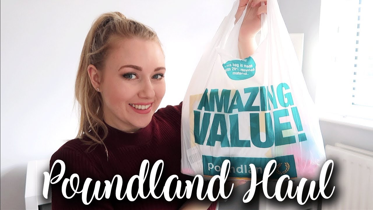 POUNDLAND HAUL MARCH 2019 - EASTER GOODIES AND CLEANING PRODUCTS - LOTTE ROACH