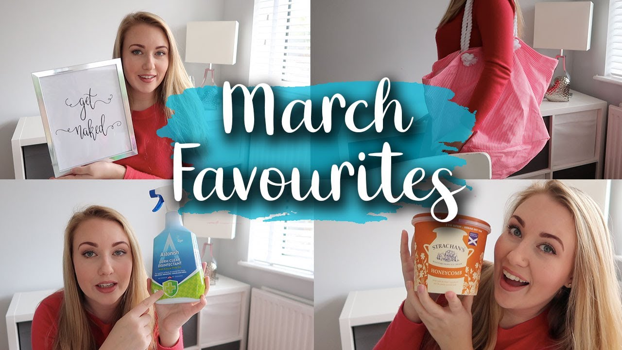 MY FIRST MONTHLY FAVOURITES - MARCH 2019 - ALDI, SKY, PRIMARK, HOME BARGAINS AND MANY MORE - LOTTE R