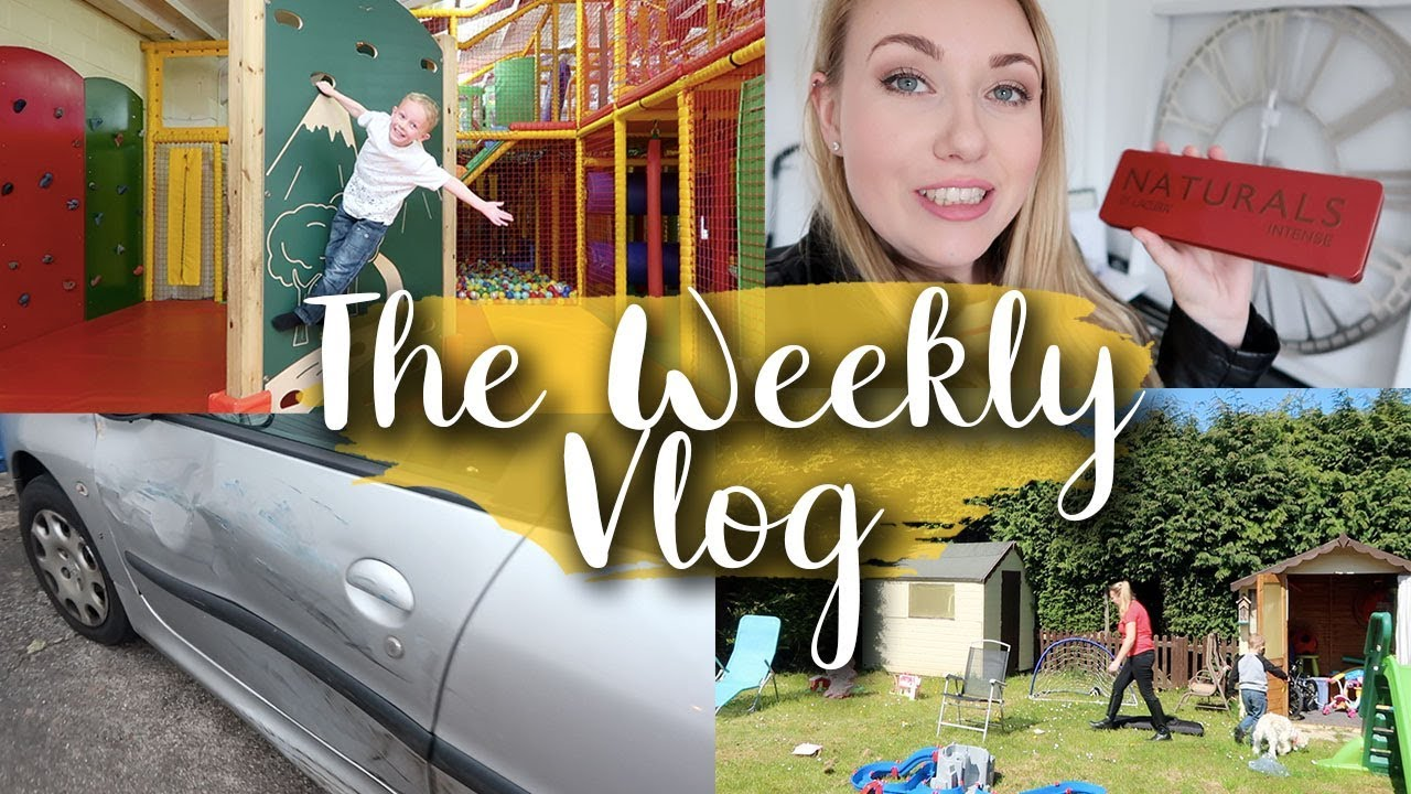CAR CRASH, THE SNIP AND HALF TERM FUN - VASECTOMY = NO MORE KIDS - THE WEEKLY VLOG #3 - LOTTE ROACH