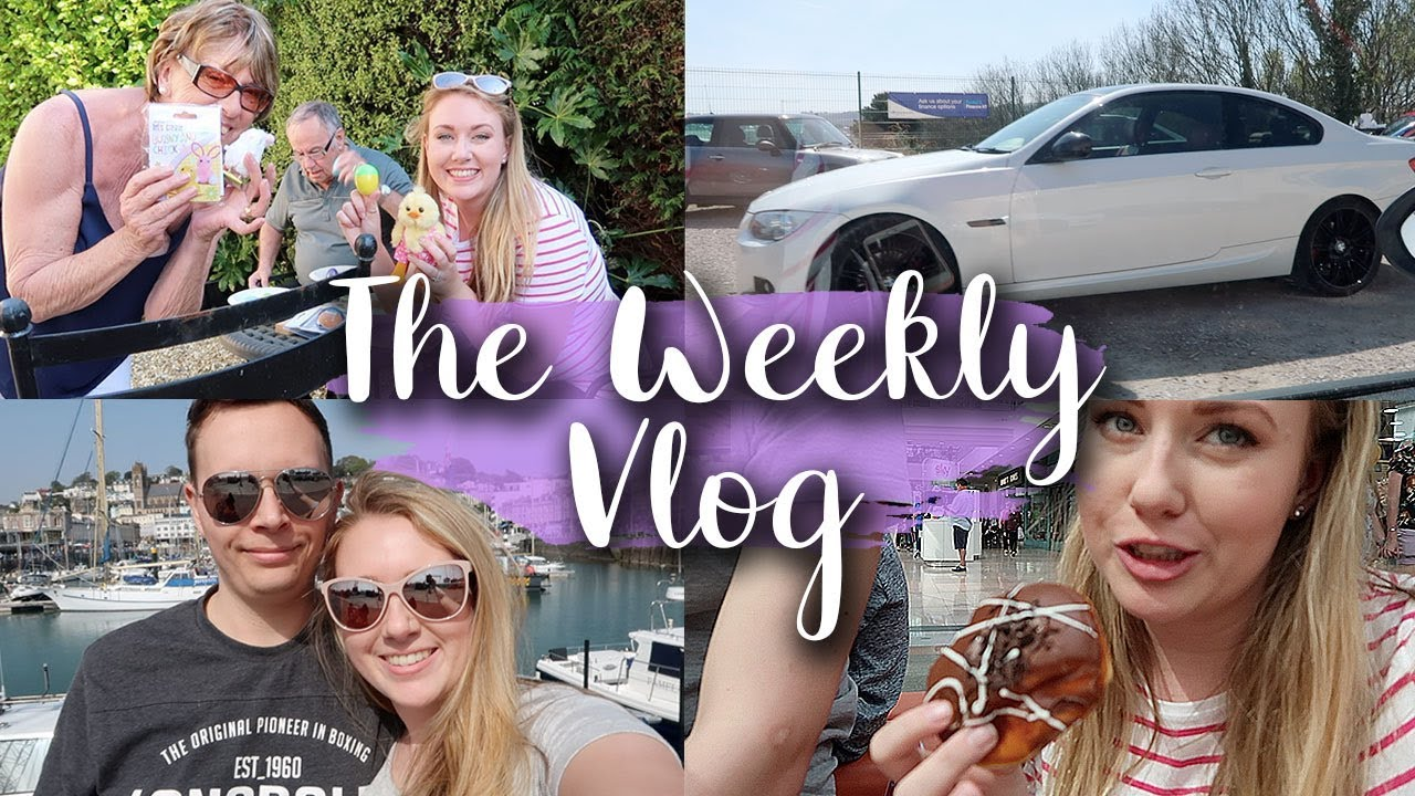 NEW CAR, MAD FAMILY EASTER HUNT, VISITING THE PENGUINS - THE WEEKLY VLOG #4 - LOTTE ROACH