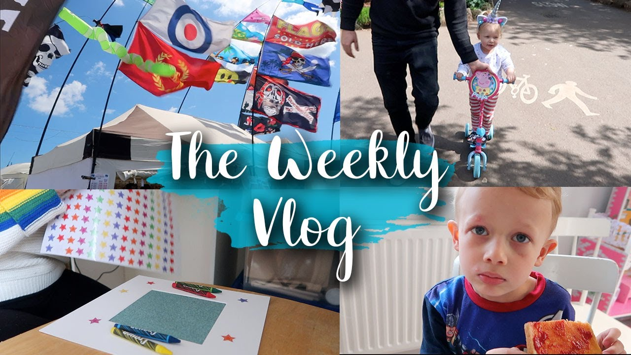 BIKE FESTIVAL, CHICKEN POX AND MAKING MY BOX FRAMES WITH CRICUT AIR 2- THE WEEKLY VLOG - LOTTE ROACH