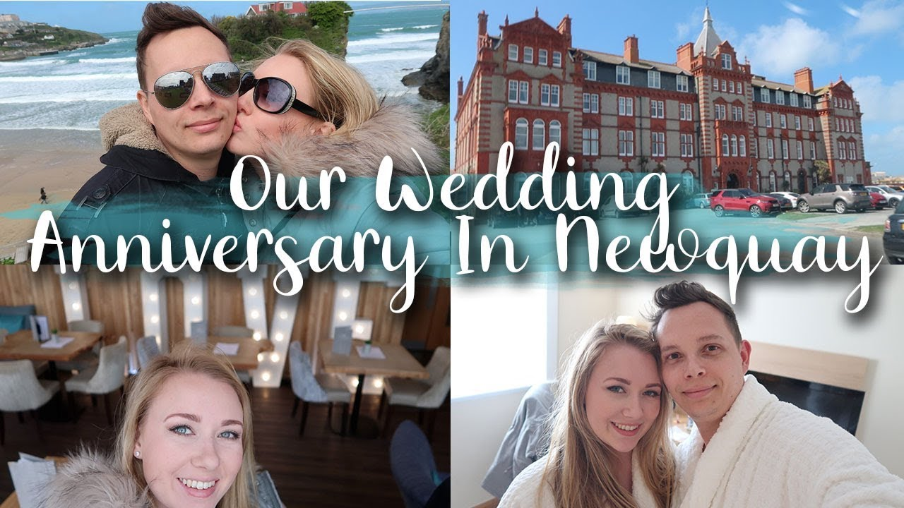OUR WEDDING ANNIVERSARY IN NEWQUAY - FISTRAL BEACH HOTEL, MASSAGE AND BUBBLY - LOTTE ROACH