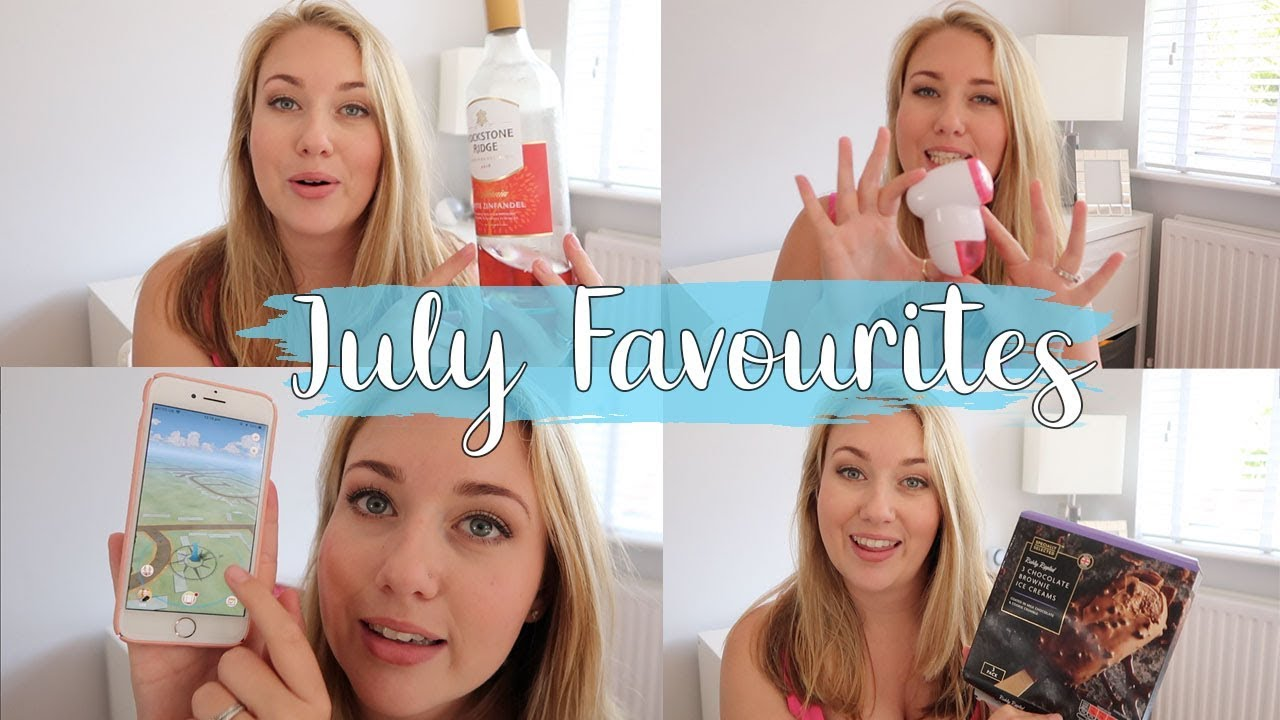 JULY MONTHLY FAVOURITES - WINE, ICECREAM, NETFLIX AND MOVIES - LOTTE ROACH