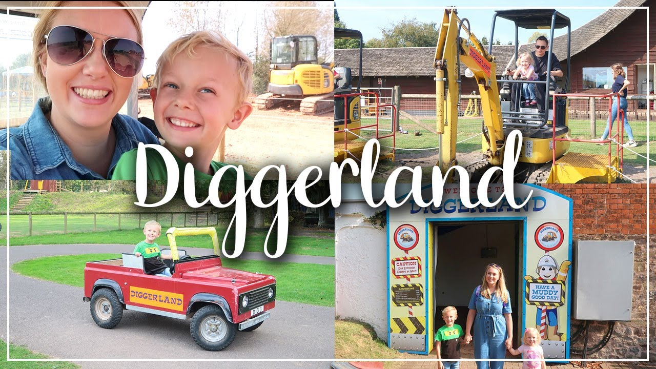 DIGGERLAND REVIEW - DEVON DAYS OUT KIDS EXTREME OFF-ROADING - #GIFTED - LOTTE ROACH