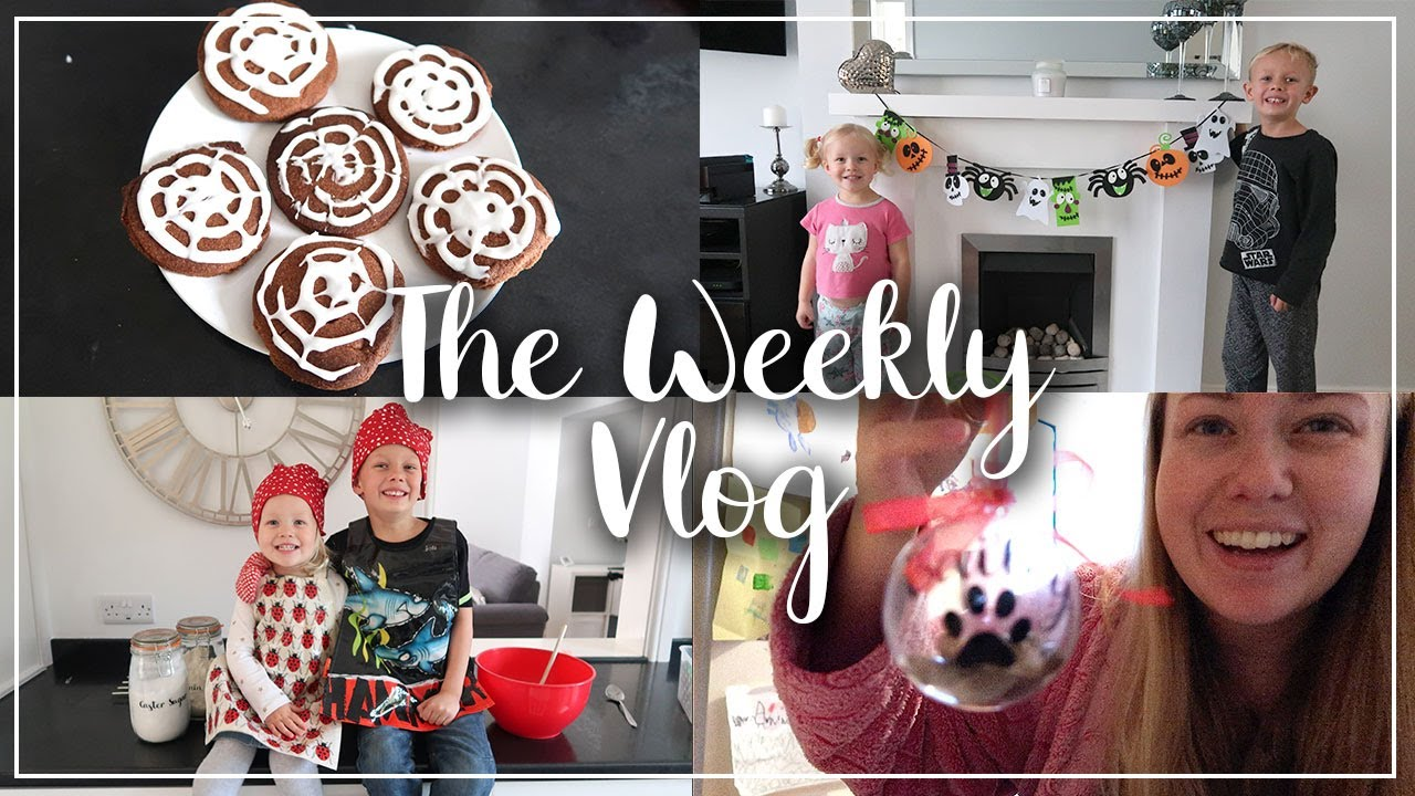 HALLOWEEN CRAFTS AND DECOR, BAKING AND BAUBLES - THE WEEKLY VLOG - LOTTE ROACH
