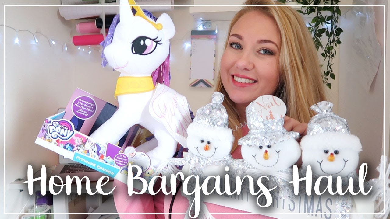 HOME BARGAINS HAUL - HALLOWEEN, CHRISTMAS GIFTS AND HOME DECOR - LOTTE ROACH