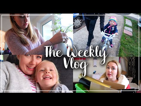ANOTHER JOB INTERVIEW, VERY POORLY WITH VERTIGO, ELLAS FIRST BIKE RIDE - WEEKLY VLOG