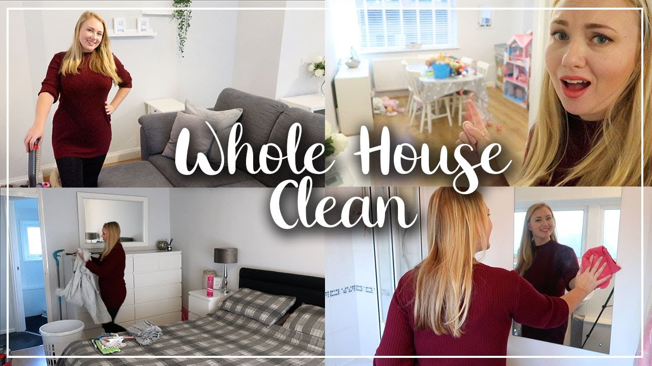 WHOLE HOUSE SPEED CLEANING BEFORE CHRISTMAS - GET IT ALL DONE BEFORE WE DECORATE - LOTTE ROACH