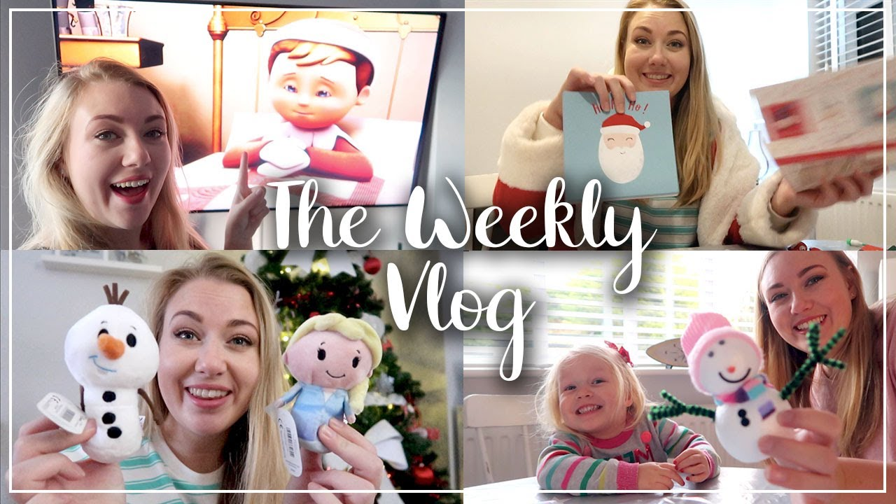HALLMARK CHRISTMAS RANGE HAUL -  PAMPER TIME WITH ELLA - THE WEEKLY VLOG - LOTTE ROACH #ad