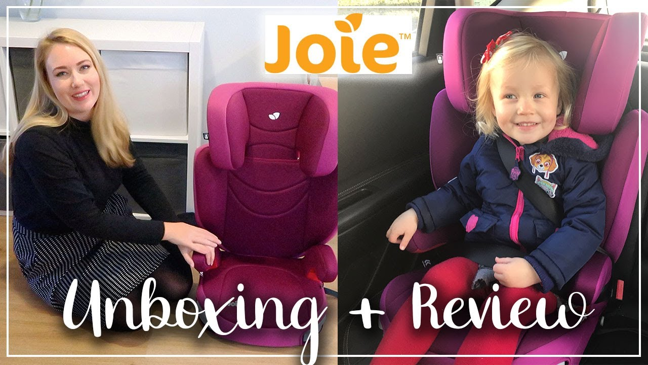 JOIE TRILLO UNBOXING AND REVIEW - GROUP 2/3 CAR SEAT - LOTTE ROACH