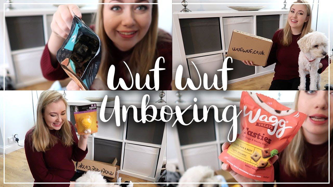 WUF WUF JANUARY UNBOXING - WINTERTAILS DOG SUBSCRIPTION BOX - LOTTE ROACH