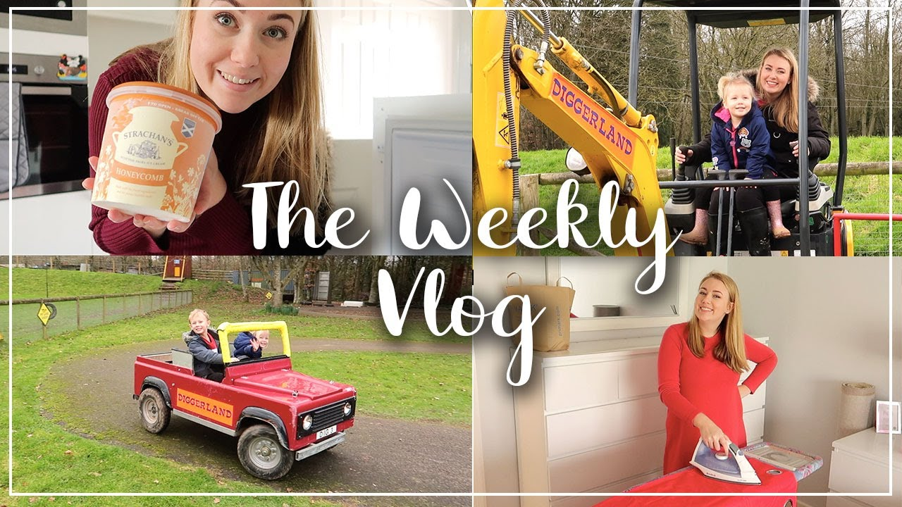 DECORATING MYLES BEDROOM - DIGGERLAND REVIEW AND DAY OUT - KIDS DRIVING DIGGERS - LOTTE ROACH