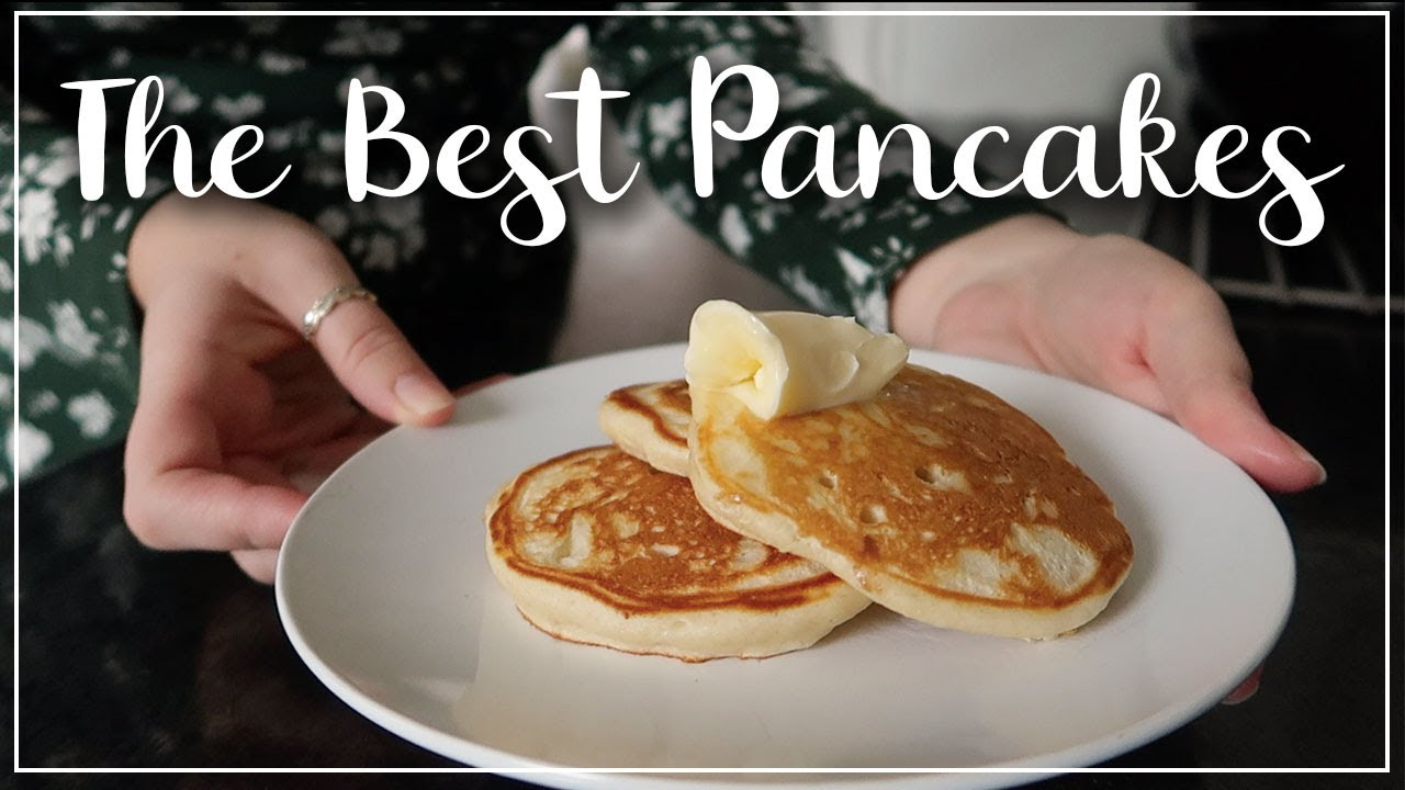 HOW TO MAKE SCOTCH PANCAKES - THE BEST PANCAKE RECIPE ONLINE - LIGHT, FLUFFY AND EASY - LOTTE ROACH