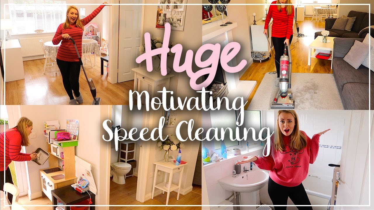 MASSIVE CLEAN WITH ME MOTIVATION - SPRING CLEANING REAL MESS - LOTTE ROACH