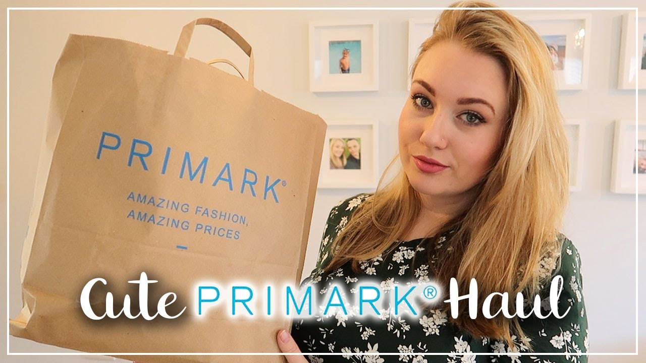 CUTE PRIMARK HAUL AND TRY ON  ll  NEW IN FEBRUARY/MARCH 2020  ll  LOTTE ROACH