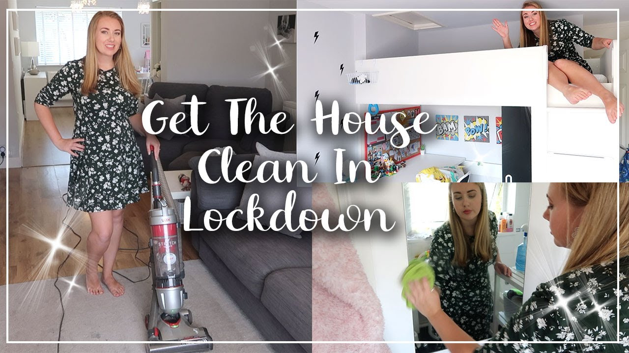 WHOLE HOUSE DEEP CLEAN - GET IT ALL DONE IN LOCKDOWN - SPEED CLEANING LOTTE ROACH