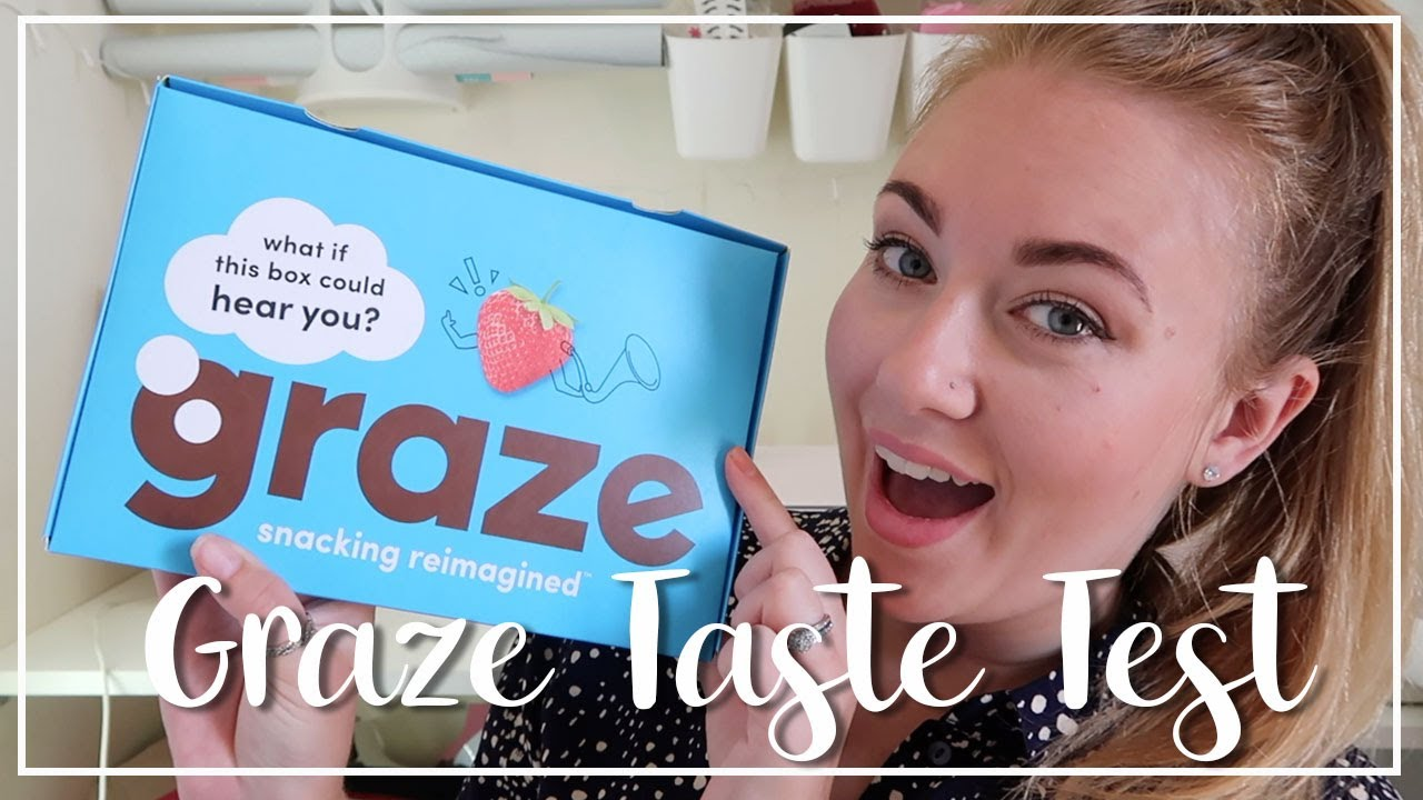 GRAZE UNBOXING AND TASTE TEST - FLAPJACKS, COOKIES AND MORE - LOTTE ROACH