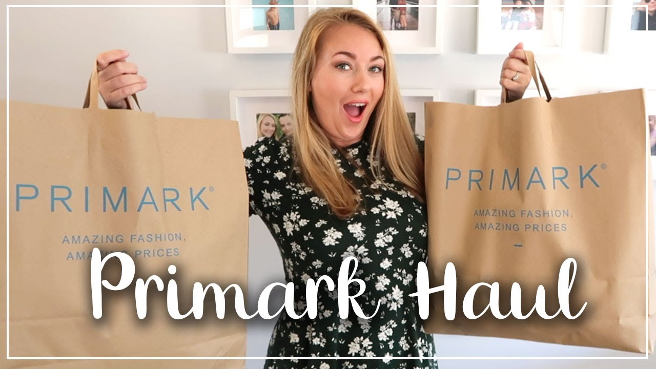£126 HUGE PRIMARK HAUL FOR THE WHOLE FAMILY AND TRY ON - AFTER LOCKDOWN - LOTTE ROACH