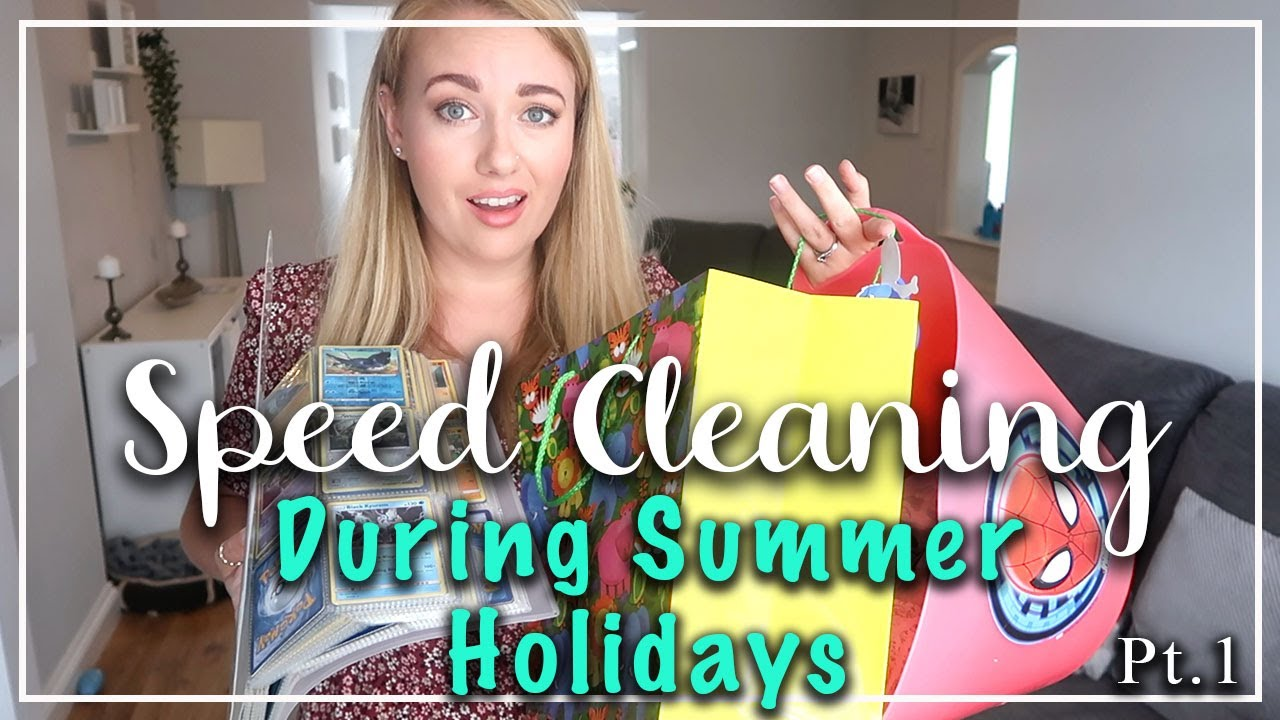 NEW! SUMMER SPEED CLEANING DURING THE HOLIDAYS - CLEANING MOTIVATION - GET IT ALL DONE - LOTTE ROACH