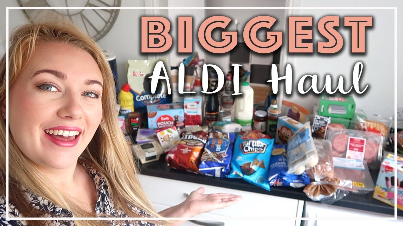 HUGE £100 ALDI HAUL FILL THE CUPBOARDS DURING SUMMER HOLIDAYS - PRESENTS, SPECIAL BUYS- LOTTE ROACH
