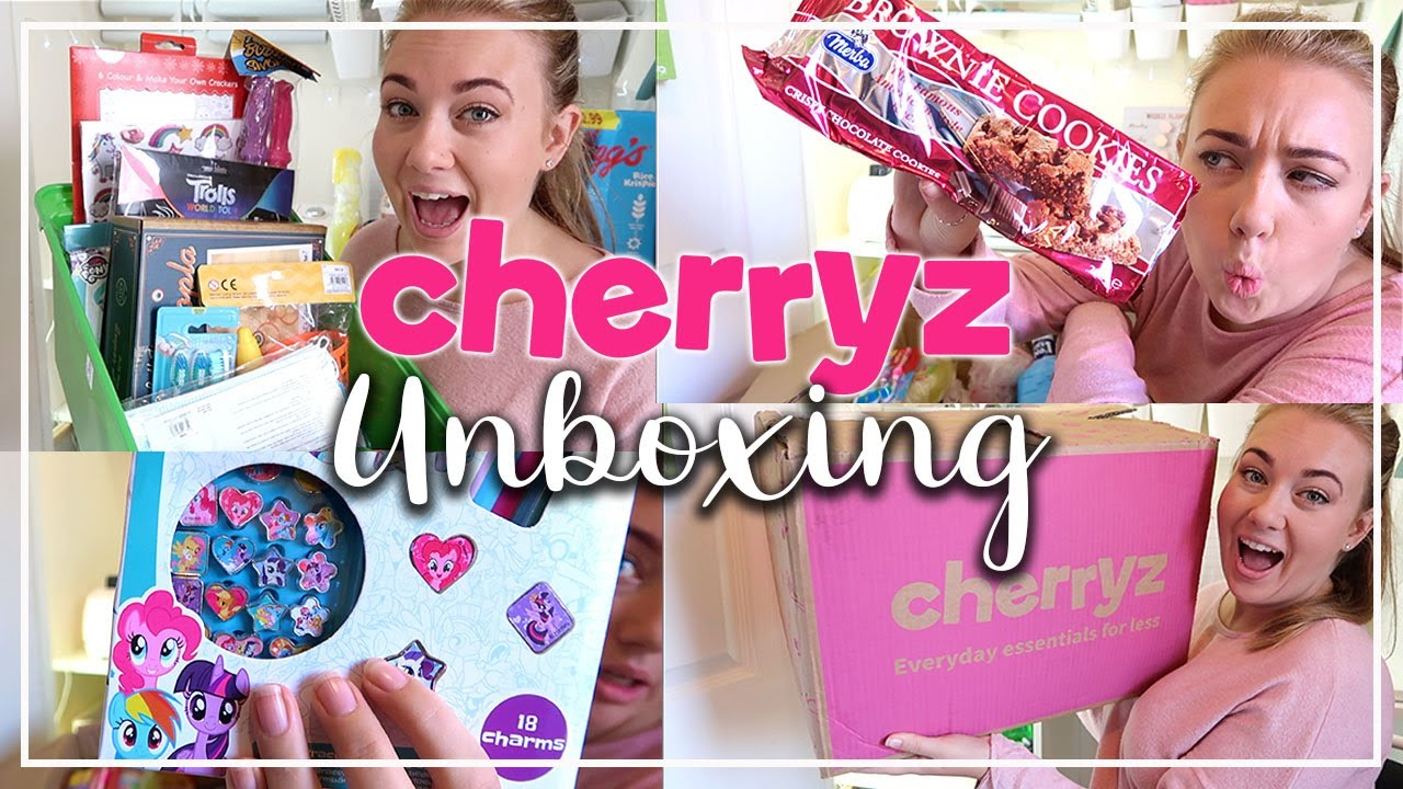 THE NEW ONLINE POUNDLAND !! HUGE £50 CHERRYZ UNBOXING - GIFTS, HOUSEHOLD, TREATS AND MUCH MORE