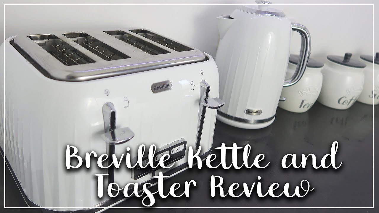 BREVILLE IMPRESSIONS KETTLE AND TOASTER SET REVIEW AND HOW TO CLEAN - LOTTE ROACH