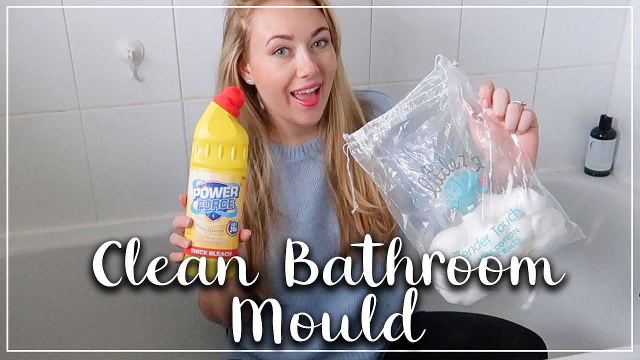 EASY WAY TO CLEAN SEALANT AND GROUT AROUND THE BATH AND SHOWER - LOTTE ROACH