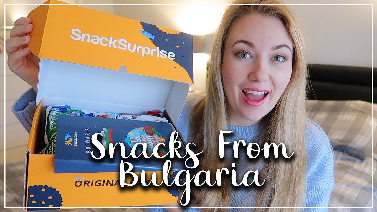 BRITISH TASTING BULGARIAN FOODS AND SNACKS - SNACK SURPRISE REVIEW - LOTTE ROACH