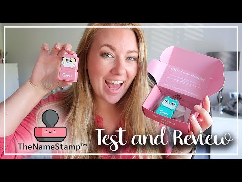 THE NAME STAMP TEST AND REVIEW - AS SEEN ON INSTAGRAM - DISCOUNT CODE - LOTTE ROACH