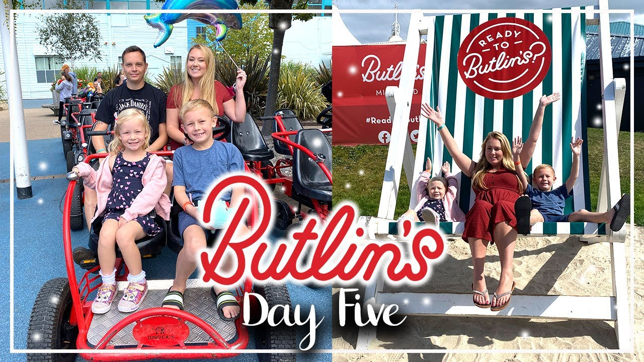 FAMLIY PEDAL BIKE HIRE, FOOD COURT TOUR - BUTLINS MINEHEAD AUGUST 2021, OUR LAST BUSY DAY