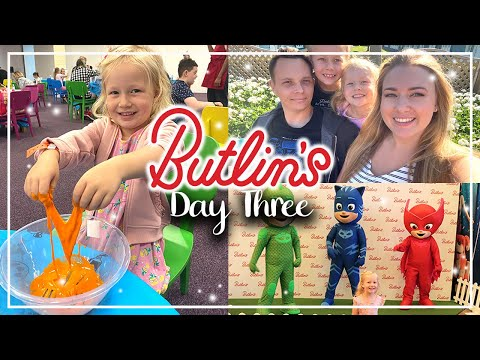 SLIMY SCIENCE + PJ MASKS - BUTLINS MINEHEAD AUGUST 2021 - POTTERY PAINTING, ACADE MADNESS AND MORE!